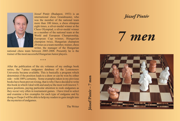 7 MEN - NEW BOOK FROM GM JOZSEF PINTER - FULL COVER