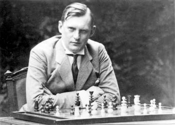 Alekhine portrait - LearningChess.net