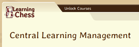 Central Learning Management - Header - LearningChess.net