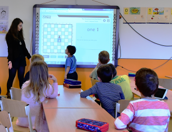 The Smart Board Allows Students To Contribute Presentations And Lessons