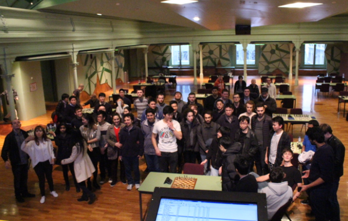 Inter University Chess Tournament Australia - Group Photo - LearningChess