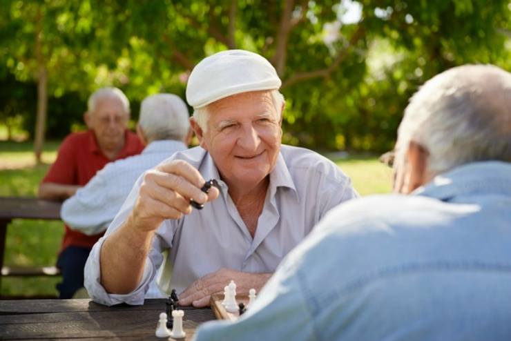 LearningChess in Nursing Homes