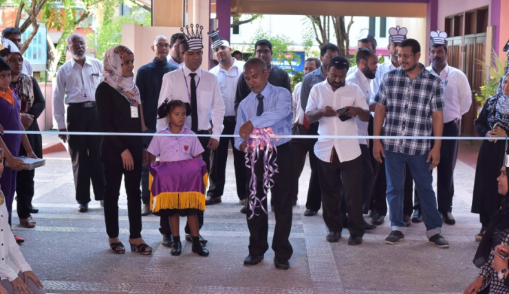 Official opening of the Scholastic Chess Program in Maldives - learningChess.net