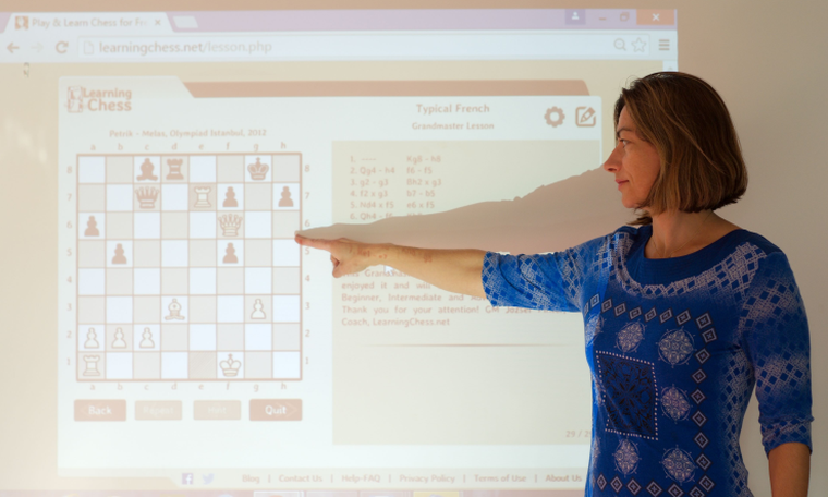 Teaching children who differ in age and chess ability with LearningChess.net - Partner Coach - Rita Atkins