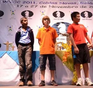 Worls championship silver medal 2011