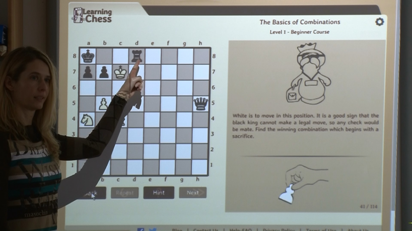 HOW CAN TEACHERS USE LEARNINGCHESS.NET IN THE SCHOOLS?